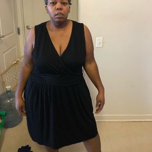Black summer dress. EUC. Size 3X Great for summer